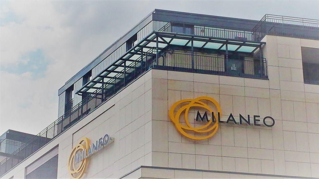 "<span style=""font-size:18px""><span style=""color:#0073bd"">Milaneo Center – Stuttgart</span></span>"
